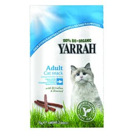 Yarrah Chew Stick Cat with Fish (5 x foil bag)