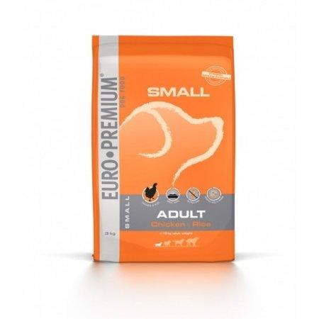 Euro Premium Small Adult Kip en Rijst