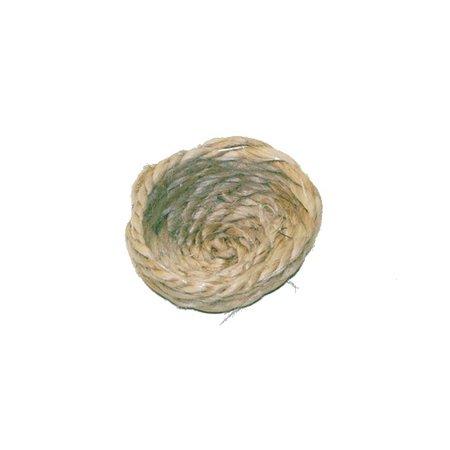 Sisal Nest weiß klein