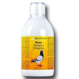 Bony Omega 3 Vliegolie (500 ml)