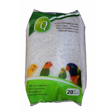 Elja Q-Muschelsand weiß (20 kg)