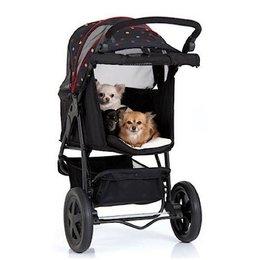 Tog Fit Pet Roadster hondenbuggy (Zwart)