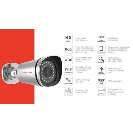 Foscam FI9900EP Full HD POE 2MP IP camera