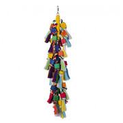 Nobby Cage Toy, Holzblöcke mit Baumwolle