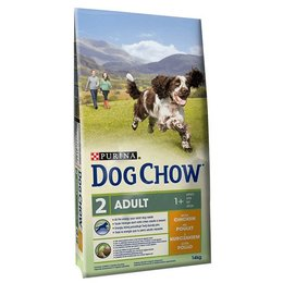 Dog Chow Adult met Kip & Rijst (14 kg)