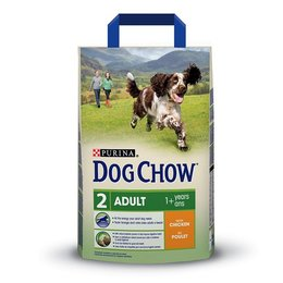 Dog Chow Adult met Kip & Rijst (2,5 kg)