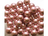 Glass Pearls 8 mm - Pink
