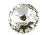 1122 Swarovski Rivoli Pointed Back SS47 - Crystal