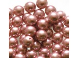 Glass Pearls 6 mm - Pink