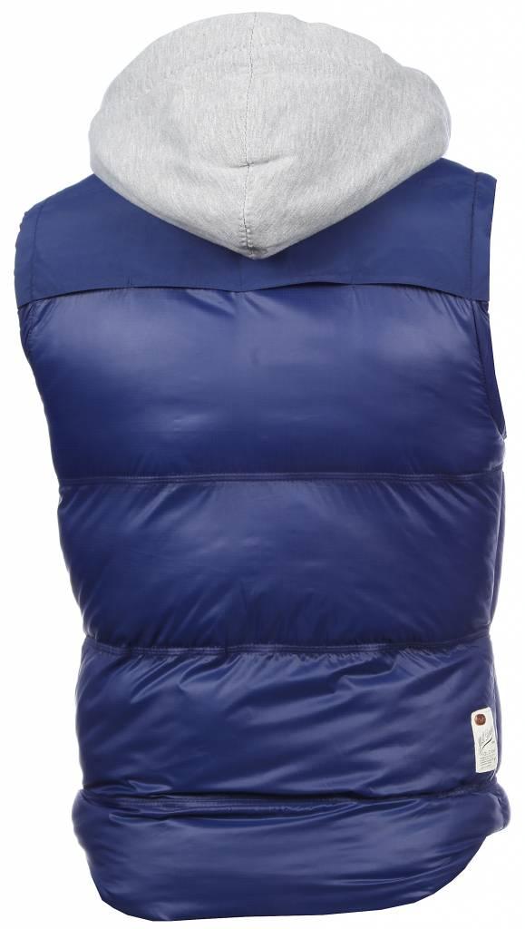 Yole Bodywarmer Blauw met capuchon