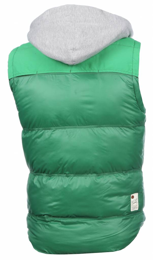 Yole Bodywarmer Groen met capuchon