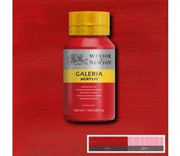 Winsor & Newton Galeria acrylverf 500ml 095 cadmium red hue