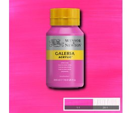 Winsor & Newton Galeria acrylverf 500ml 448 opera rose