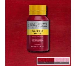 Winsor & Newton Galeria acrylverf 500ml 466 permanent alizarin crimson