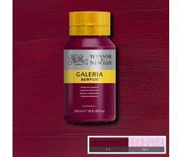 Winsor & Newton Galeria acrylverf 500ml 488 permanent magenta