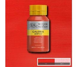Winsor & Newton Galeria acrylverf 500ml 682 vermillion