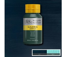 Winsor & Newton Galeria acrylverf 500ml 522 phtalogreen