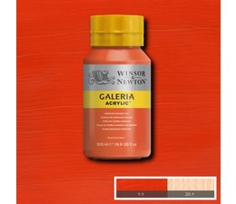 Winsor & Newton Galeria acrylverf 500ml 090 cadmium orange