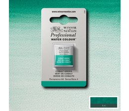 Winsor & Newton aquarelverf 1/2napje s4 cobalt green 184