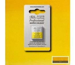 Winsor & Newton aquarelverf 1/2napje s4 cadmium yellow pale 118