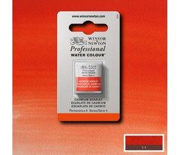 Winsor & Newton aquarelverf 1/2napje s4 cadmium scarlet 106