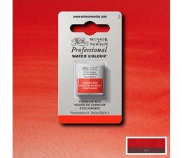 Winsor & Newton aquarelverf 1/2napje s4 cadmium red 094