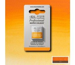 Winsor & Newton aquarelverf 1/2napje s4 cadmium orange 089