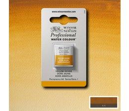 Winsor & Newton aquarelverf 1/2napje s1 yellow ochre 744