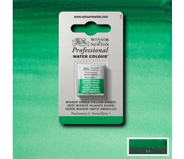 Winsor & Newton aquarelverf 1/2napje s1 winsor green yellow shade 721