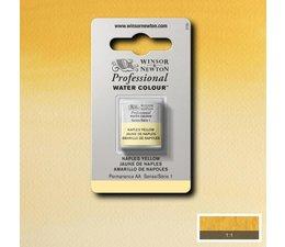 Winsor & Newton aquarelverf 1/2napje s1 naples yellow 422