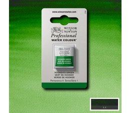 Winsor & Newton aquarelverf 1/2napje s1 hookersgreen 311