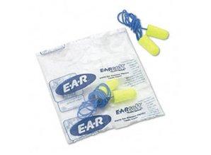 EAR Soft Yellow Neon oordopjes met koordje   SNR 36dB   Box 200 paar
