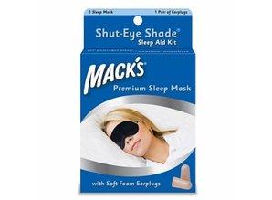 Macks Slaapmasker en oordoppen set | Goed slapen