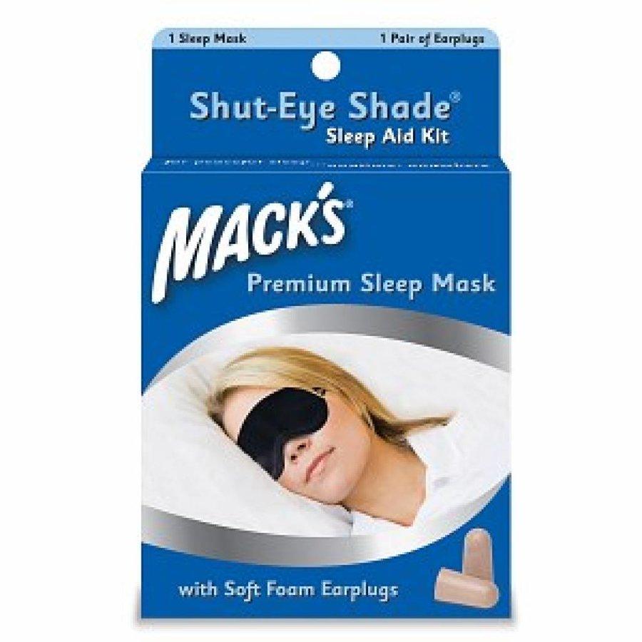 Slaapmasker en oordoppen set | Goed slapen