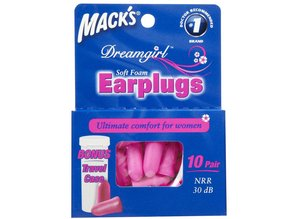 Macks Dreamgirl Oordopjes | Voor de kleine gehoorgang