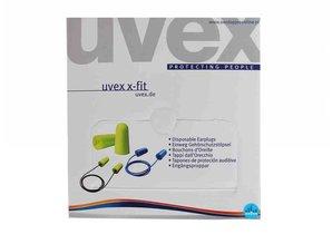 Uvex X-Fit oordopjes   SNR 37dB   Dispenserbox (Tip)
