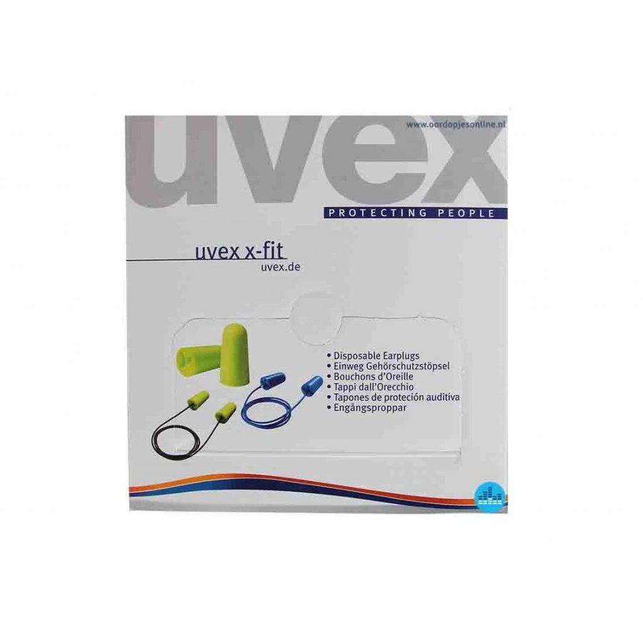 X-Fit oordopjes | SNR 37dB | Dispenserbox (Tip)