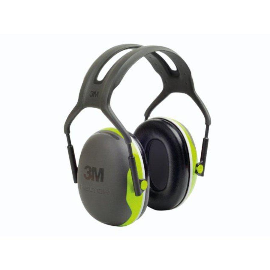 Peltor X4A oorkap met hoofdband | SNR 33dB