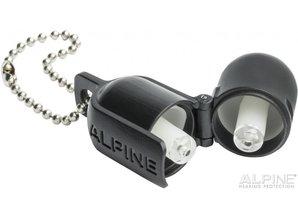 Alpine Partyplug Zilvergrijs met Alpine Miniboxx opbergkoker