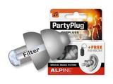 Alpine Partyplug Zilvergrijs