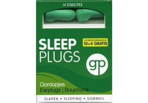 Get Plugged Sleep Plugs | 7 paar