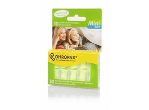 Ohropax Mini Soft oordoppen voor de kleinere gehoorgang
