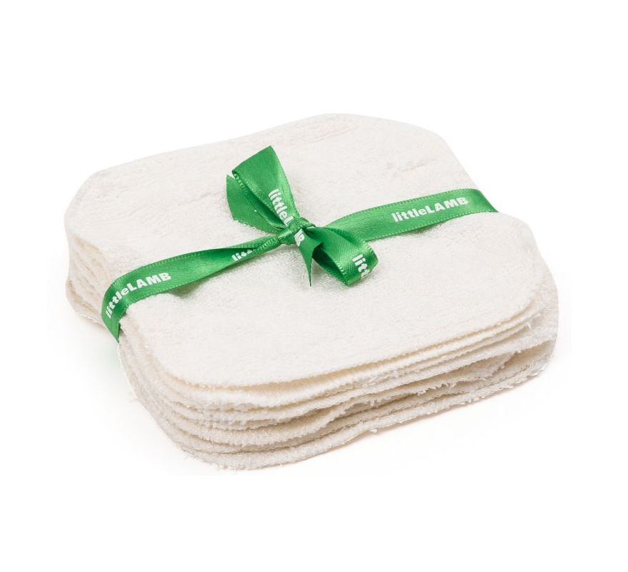 Little Lamb Bamboo wipes 10st