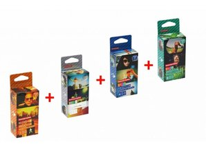 Lomography Super deal 35mm filmrolletjes
