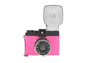 Lomography Diana F+ Camera Mr. Pink