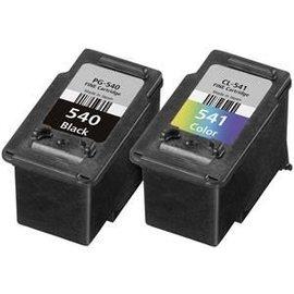 Canon Aanbieding 1 x set PG-540 zwart + CL-541 kleur (huismerk)