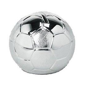 Spaarpot verzilverd voetbal