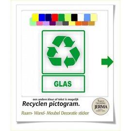 JERMA Recyclen pictogram.