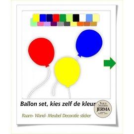 JERMA Ballon set 3 stuks.