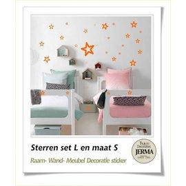 JERMA Sterren, decoratie set.